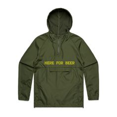 HFB Here For Beer Double-Sided Embroidery Army Green AS Colour 5501 Cyrus Windbreaker & Rain Jacket Front - Beer Hoodies,Funny Drinking Hoodies,Alcohol Hoodies,Alcohol Clothing,Funny Drinking Quotes,Funny Drinking Memes,Embroidery Hoodies,Typographic Hoodies,Graphic Hoodies,Alco Tops,Drunk,Here For Beer,Pilsner,Bier,Cerveza,Piwo,Miller,Fosters,Budweiser,Bud Light,Guinnes,Irish Pub,Pub Crawl,Cheers,Skål,Prost,Proost,Tchin,Santé,Cin Cin,Salute,Na Zdrowie,Tim-Tim,Fire In The… H Logos, Windbreaker Jacket, Rain Jacket, Smocking, Parka, Zip Ups, Raincoat, Tees, Jackets