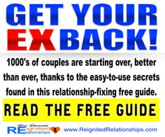 "http://www.reignitedrelationships.com/ Learn The ""Secret Psychology"" You Need To Get Your Ex Back - See Now"