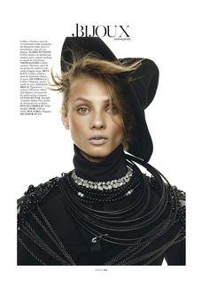 Model Anna Selezneva, photographer Giampaolo Sgura for Vogue, Paris, March 2013