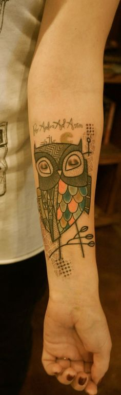 ART BY NOON: TATTOO OF THE DAYS...