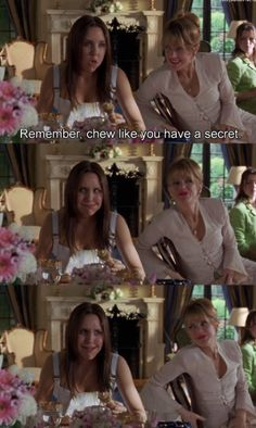 Etiquette lessons. Favorite movie!
