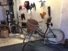 Ladies Cafe racer and men Path Racer based on Batavus frame for sale @kleedvermaak Leiden