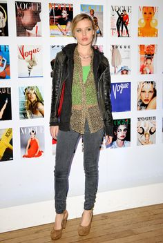 Georgia May Jagger Leather Jacket - Georgia May Jagger Looks - StyleBistro