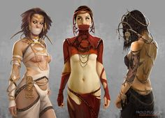 Three Oracles by Paolo Puggioni | Fantasy | 2D | CGSociety