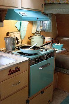 taken by Victoria Mock Vintage Campers Trailers, Vintage Caravans, Camper Trailers, Shasta Camper, Car Camper, Glam Camping, Camping Glamping, Trailer Interior, Rv Interior