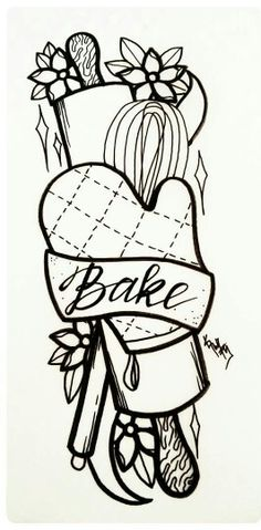 Baking tattoo