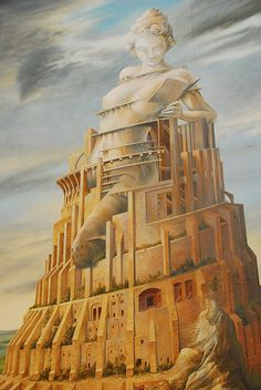 La tour infinie, de François Schuiten