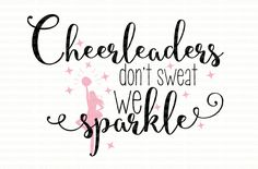 Cheer Thing Vinyl Cheerleading Shirts Svg Files For