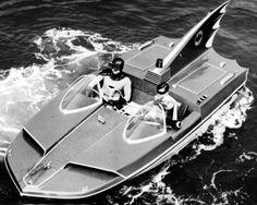 Batman batboat c. 1960's