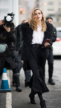Olivia Palermo seen after the Michael Kors show in the streets of Manhattan on February 15 2017 in New York City