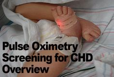 WE ROUTINELY DO THIS! 1 in 110 babies are born with some form of a congenital heart defect. Many are not diagnosed at birth and go home only to suffer heart failure. Some parents learn of their babies diagnosis from the coroner. If you are pregnant, or know someone who is, ask for a pulse ox test before you leave the hospital. It's cheap, non-invasive and can save lives.
