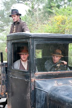 Lawless Pictures starring Tom Hardy, Shia LeBoef, Jessica Chastain, Guy Pearce, Gary Oldman; based on a true story