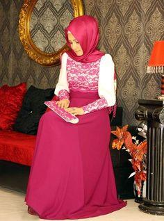Beautiful Hijabi Dress for a Wedding