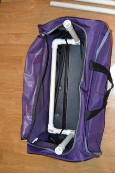 Dance Bag With Garment Rack Delectable Dance Bag With Garment Rack Made Using Pvc Pipes Privacy Curtain