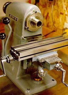 Hardinge benchtop horizontal milling machine.