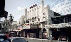 Bellevue Cinema in Paco, Manila. Philippines, taken on 4 Jan (lidsaybridge) Art Nouveau, Art Deco, Movie Theater, Theatre, World War Two, Evolution, Street View, Explore, Photo And Video
