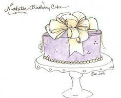 Yummy Thingy: Natalie's Present Cake