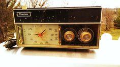 Vintage Firestone Alarm Clock AM/FM by VINTAGERADIOSONLINE on Etsy