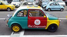 Raduno Fiat 500 a Thiene