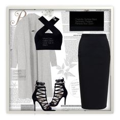 """Untitled #20"" by melaniepp ❤ liked on Polyvore featuring River Island, Rick Owens, Joseph, Motel and Charlotte Olympia"