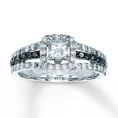 I will take it! Diamond Engagement Ring 7/8 ct tw Princess-cut 14K White Gold. 2500$ KAY Jewelers