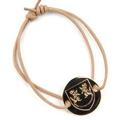 True Prep Crest Bracelet now featured on Fab.