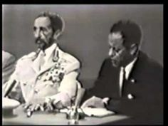 Video - Haile Selassie I squashes the Skin Color Argument