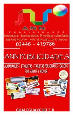 Ann Publicidades - Los mejores precios