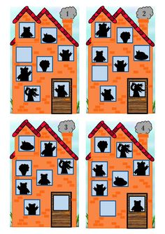 Visual Perception Activities, Sequencing Pictures, Three Little Pigs, Cartoon Kids, Zoo Animals, Book Activities, Montessori, Fairy Tales, Preschool