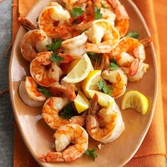This marinated shrimp is easy and full of flavor! This is a great appetizer and can easily become dinner when paired with your favorite sides.                  Ingredients     2 tablespoons olive oil   2 tablespoons dry white wine   2