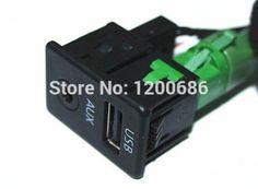 USB AUX Switch  For VW Passat B6 Volkswagen Passat B7