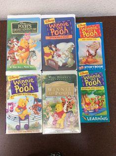 Winne The Pooh, Disney Winnie The Pooh, Pooh's Grand Adventure, Tigger, Walt Disney, Tape, Key, Songs, Movies