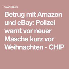 Betrug mit Amazon und eBay: Polizei warnt vor neuer Masche kurz vor Weihnachten - CHIP