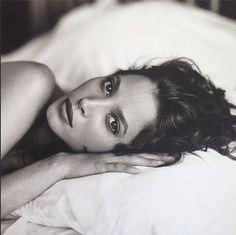 "christy-turlington:  ""Christy & Kara e Skin Relax"" Outtake. Vogue Italia. December 1993."