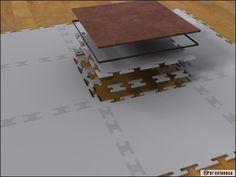 Clip- tile / Carrelage clipsable: à vos marques, prêt, posez! - Travaux.com