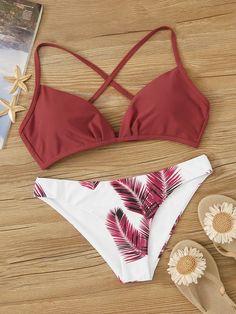 2020 Women Swimsuits Bikini Swimsuits For Larger Ladies Cool Beachwear Scalloped Swimwear Cheap Beachwear Bathing Suits For Teens, Summer Bathing Suits, Cute Bathing Suits, Cute Swimsuits, Cute Bikinis, Women Swimsuits, Bikinis Lindos, Bikini Outfits, Beachwear For Women
