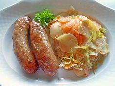 Kartoffel-Gemüse mit Schmelzkäse