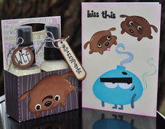 Stink Bomb and Flush Puppies