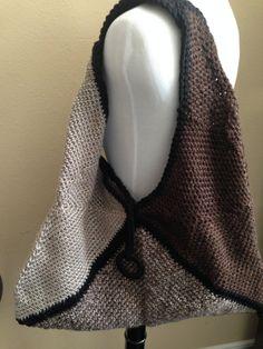 Large Made to Order Boho Purse Handmade Crochet Handbag - $52 - Free US Shipping-  Color Choices by goldenhandscreations