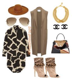 """""""#OOTD #Shopping #Fun #GirlsDay #BestFriend #LunchDate #Cali #NewYork"""" by treasures-ive-found on Polyvore featuring DKNY, Burberry, Alexander Wang, Ray-Ban, BCBGMAXAZRIA, Fendi and Ben-Amun"""