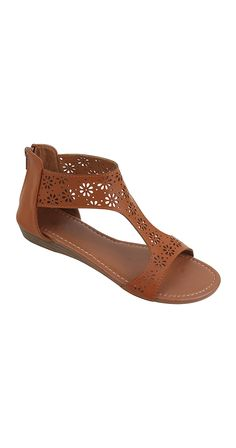 Piece Out Sandal Dress these sandals up or down, they go with everything! Perforated vegan leather with a unique cutout sole, the cushioned insole makes the Piece Out Sandal so comfy. Wedge heel Cushioned insole Perforated detail Back zip Vegan leather Silver Icing, Online Collections, Dress Sandals, Fashion Company, Best Brand, Chic Outfits, Wedge Heels, Vegan Leather, Fashion Online