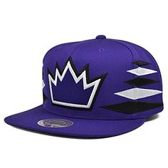 Sacramento Kings DIAMOND Purple SNAPBACK Mitchell  Ness NBA Hat *** Details can be found by clicking on the image.