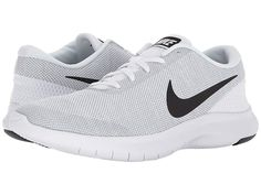 9ffe660359e03 Nike Flex Experience RN 7 (White Black Wolf Grey) Men s Running Shoes