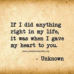 We've all experienced a moment when you just can't find the right words to say 'I love you' and describe the depth of your feelings, so here are 60 cute and sweet love quotes for him that are sure to make his heart melt. Love Quotes For Her, Love Quotes For Him Boyfriend, Sweet Love Quotes, Girlfriend Quotes, Love Yourself Quotes, Love Is Sweet, So In Love, Love Quotes For Him Romantic, You Make Me Happy Quotes