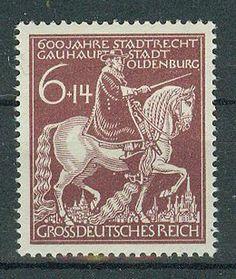 Deutsches Reich  Briefmarken 1945- 600 Jahre Oldenburg Mi.Nr.907