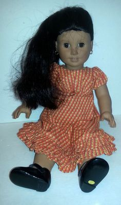 PLEASANT COMPANY AMERICAN GIRL JOSEFINA WITH SUMMER DRESS #Dolls