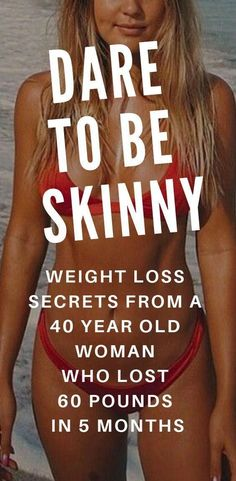 Dare to be skinny: See the weight loss secret of a 40 year old woman who lost ov. Dare to be skinny: See the weight loss secret of a 40 year old woman who lost over 60 pounds in 5 m Fitness Workouts, Fitness Motivation, Fast Workouts, Workout Tips, Workout Plans, Night Workout, Week Workout, Fitness Plan, Fitness Weightloss
