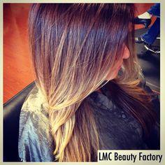 Ombré hair | LMC Beauty Factory  Hair stylist | Leslie Marie Carreno