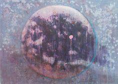 Mixed technique on canvas   70 x 96 cm  2011
