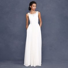 Manuela gown - so pretty and simple. Would love to have this gown ...